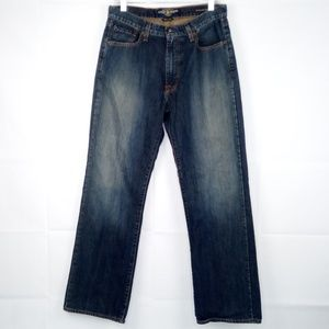 Lucky Brand 181 Relaxed Straight Blue Jeans Men
